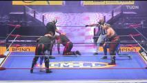 Vangellys, Rey Bucanero y Shocker castigan a los Panther en combate estelar