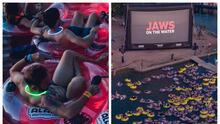 Podrás ver la icónica película de tiburones 'Jaws' mientras nadas en el lago Travis