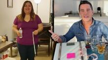 Alejandro Chabán resolvió tres dudas de la televidente que aceptó su reto saludable