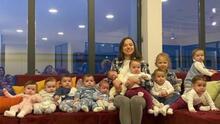 Joven mujer con once hijos quiere criar a más de 100 y tiene un plan para lograrlo