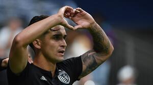 """Felipe Gutiérrez no se quiere ir de Kansas City: """"Quiero quedarme cinco años más en Sporting"""""""