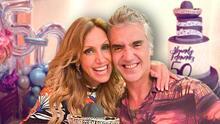"""""""Amigo del alma, te amo"""": así fue el festejo que Lili Estefan le organizó a Alejandro Fernández por su cumpleaños 50"""