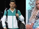 Modelo revela que le ofrecieron 70 mil dólares por acostarse con Djokovic