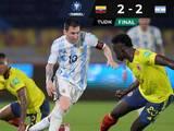 Error de Marchesin le da el empate a Colombia contra Argentina en el último minuto