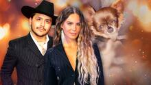 """Christian Nodal y Belinda le dan la bienvenida a su """"bebé"""" un mes después de anunciar su compromiso"""
