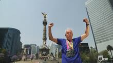 Antonio García, un atleta al que sus 85 años no le son impedimento para seguir corriendo maratones