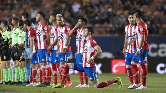 Atlético de Madrid no vende al San Luis y se queda en futbol mexicano