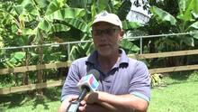 Agricultor de Moca cosecha yuca de 9 pies
