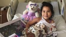 Sacha Revolorio, la niña de 5 años que necesita ayuda para pagar su tratamiento contra la leucemia