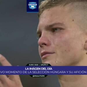 Jugadores de Hungría rompen en llanto tras ser eliminados