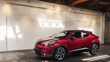 Prueba de la nueva Toyota C-HR