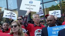 Conductores de Uber, Lyft y Juno protestan en varias ciudades de EEUU exigiendo mejores condiciones