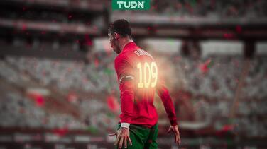 ¡SUUUI! Cristiano Ronaldo empata récord de Ali Daei de 109 goles