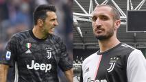 Buffon y Chiellini se quedan hasta 2021 con la Juventus