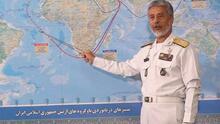 Cambian de rumbo los barcos iraníes que se sospechaba iban con armas a Venezuela