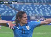 ¡Ahora sí! Cavani termina un contragolpe y marca el 0-2 de Uruguay