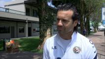 Solari y la apuesta a Karel Campos y Emilio Lara, canteranos de América