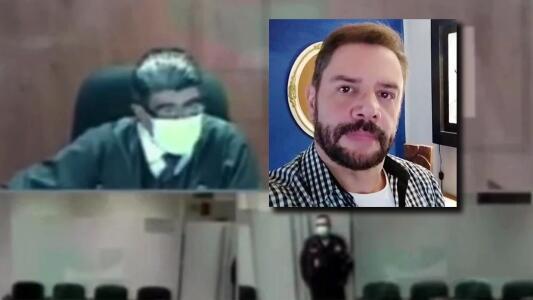 """El video de la audiencia de Héctor Parra donde el juez hace """"un llamado de atención"""" al fiscal"""