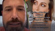Influencer rechazó a Ben Affleck en un app de citas pensando que era un perfil falso: Esta fue la reacción del actor