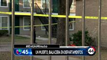 En Un Minuto Houston: Investigan un tiroteo en un complejo de apartamentos que dejó un muerto