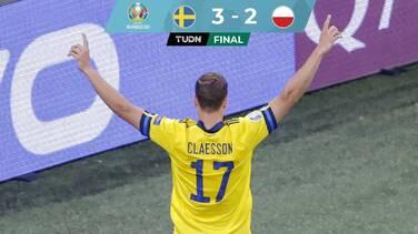 Sobre el final, Suecia venció y eliminó a Polonia de la Eurocopa