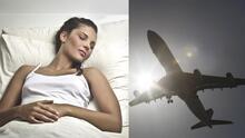 Mujer que dormía en un vuelo se quedó atrapada dentro del avión al ser olvidada por la tripulación