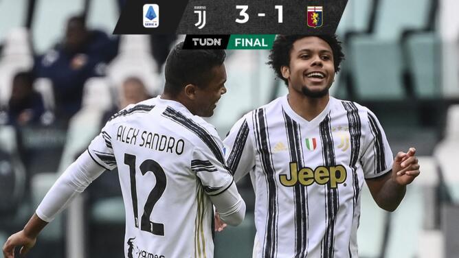 Weston McKennie sella la victoria de la Juve sobre el Genoa