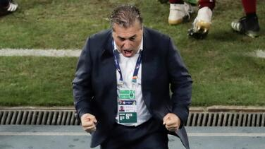 José Peseiro destaca la actitud de sus jugadores emergentes