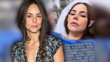 Camila Sodi sale del hospital y da detalles sobre su estado de salud