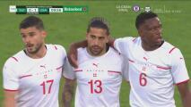 ¡No duró nada el festejo! Ricardo Rodríguez empata 1-1 para Suiza