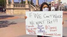 """""""Renta no, comida sí"""", millones de familias en EEUU celebran la extensión de la moratoria para el pago de alquiler"""