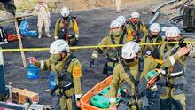 📸 Así es la búsqueda a contrarreloj en una mina de México con trabajadores atrapados: se han recuperado cuatro cuerpos