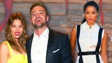 Justin Timberlake y Jessica Biel fueron captados en una romántica cena, tras la polémica con Alisha Wainwright