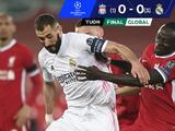 Real Madrid fue un muro ante Liverpool y avanzó a Semifinales